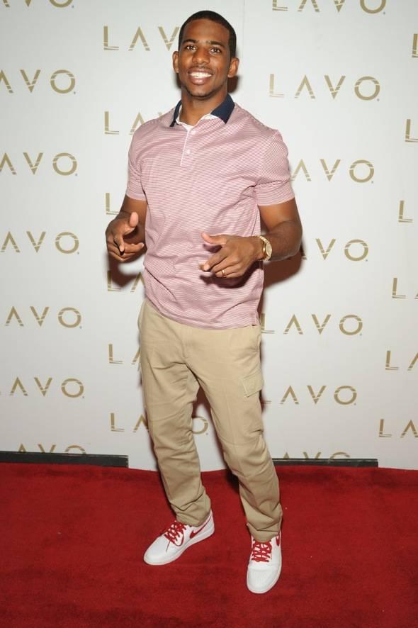 LAVO Chris Paul Red Carpet
