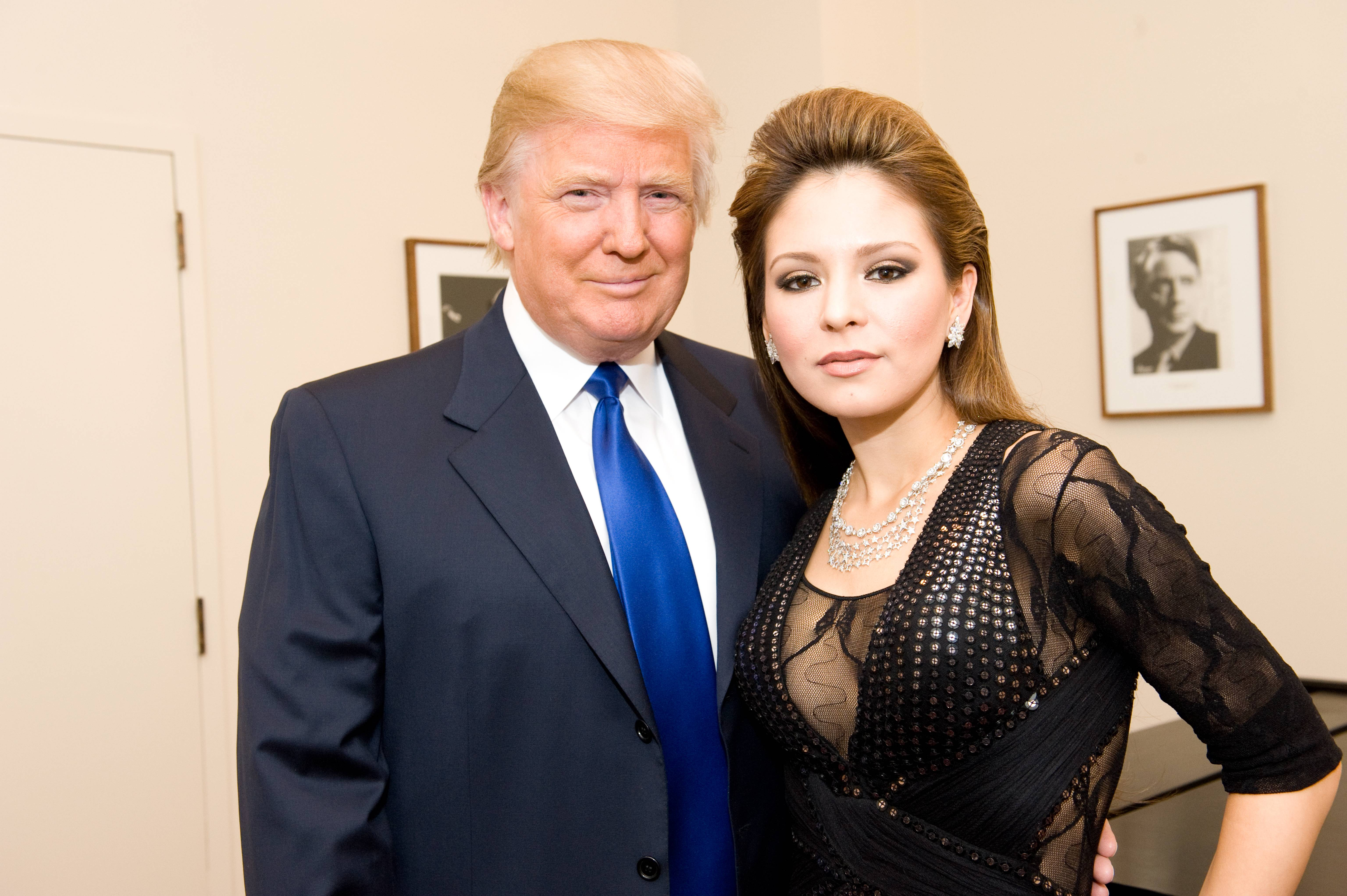Lola Astanova Donald Trump
