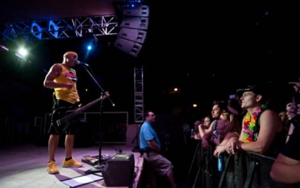 Pepper rocks the Soundwaves stage at the Hard Rock Hotel & Casino 6.15.12