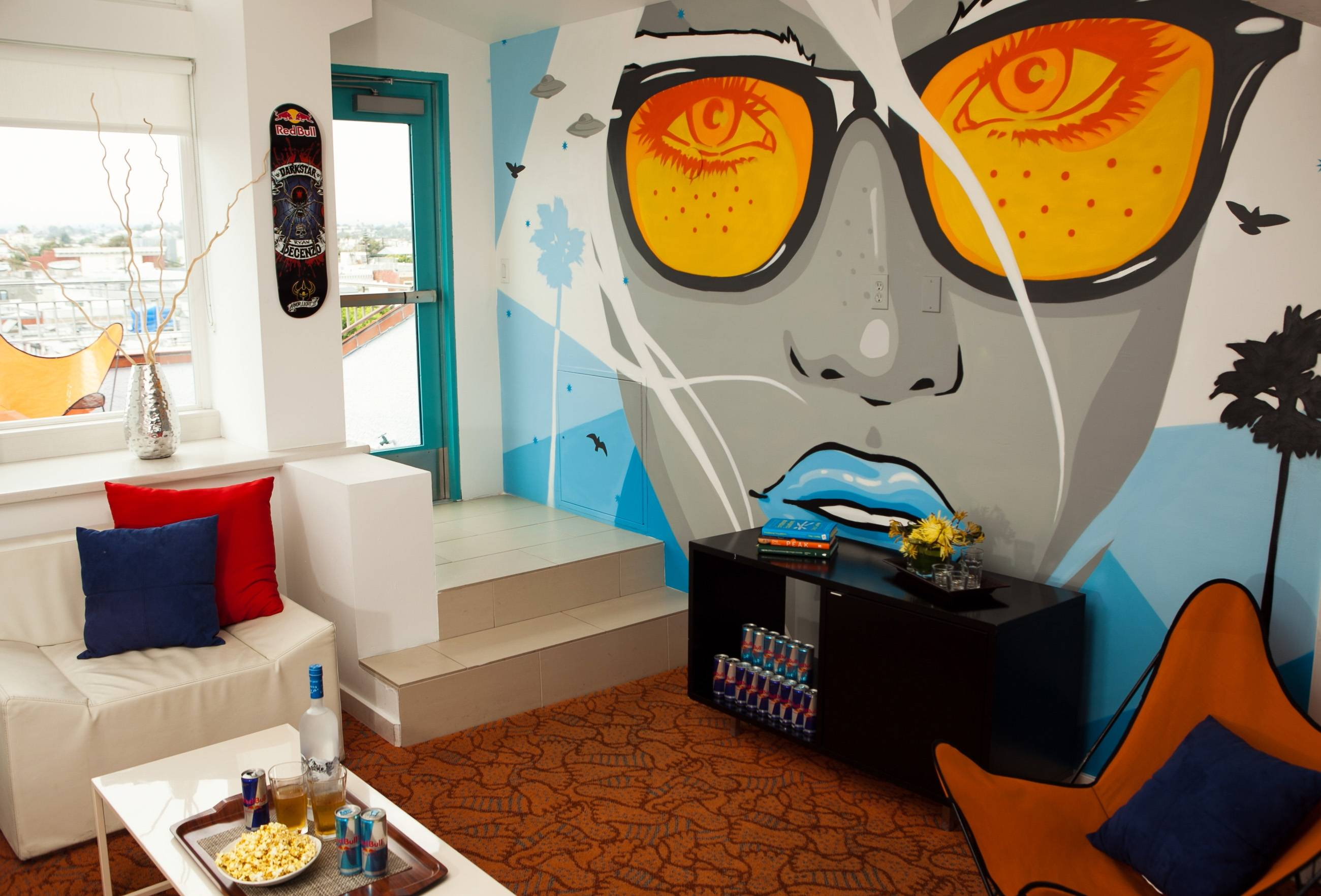 Red Bull Dogtown Suite Mural