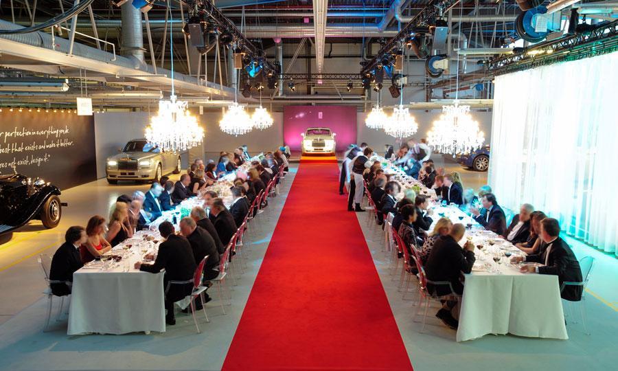 Rolls-Royce-dinner