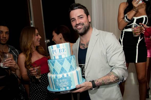 Ryan Labbe_BDay Cake 2_PURE Nightclub