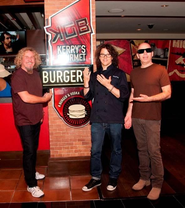 Sammy Hagar, Kerry Simon, Joe Satriani