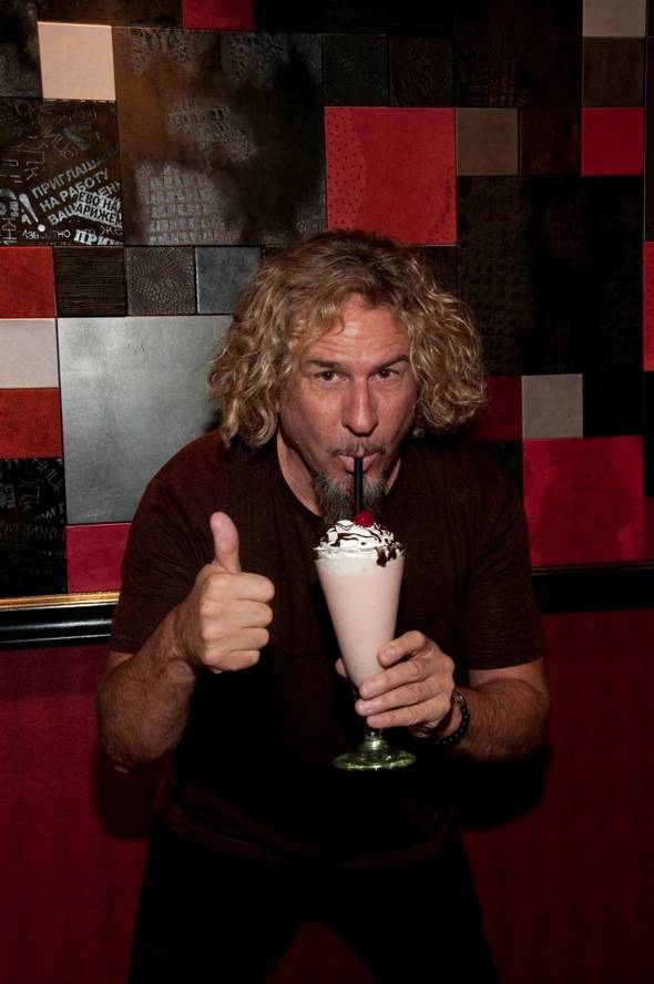 Sammy Hagar Red Rocker Milkshake