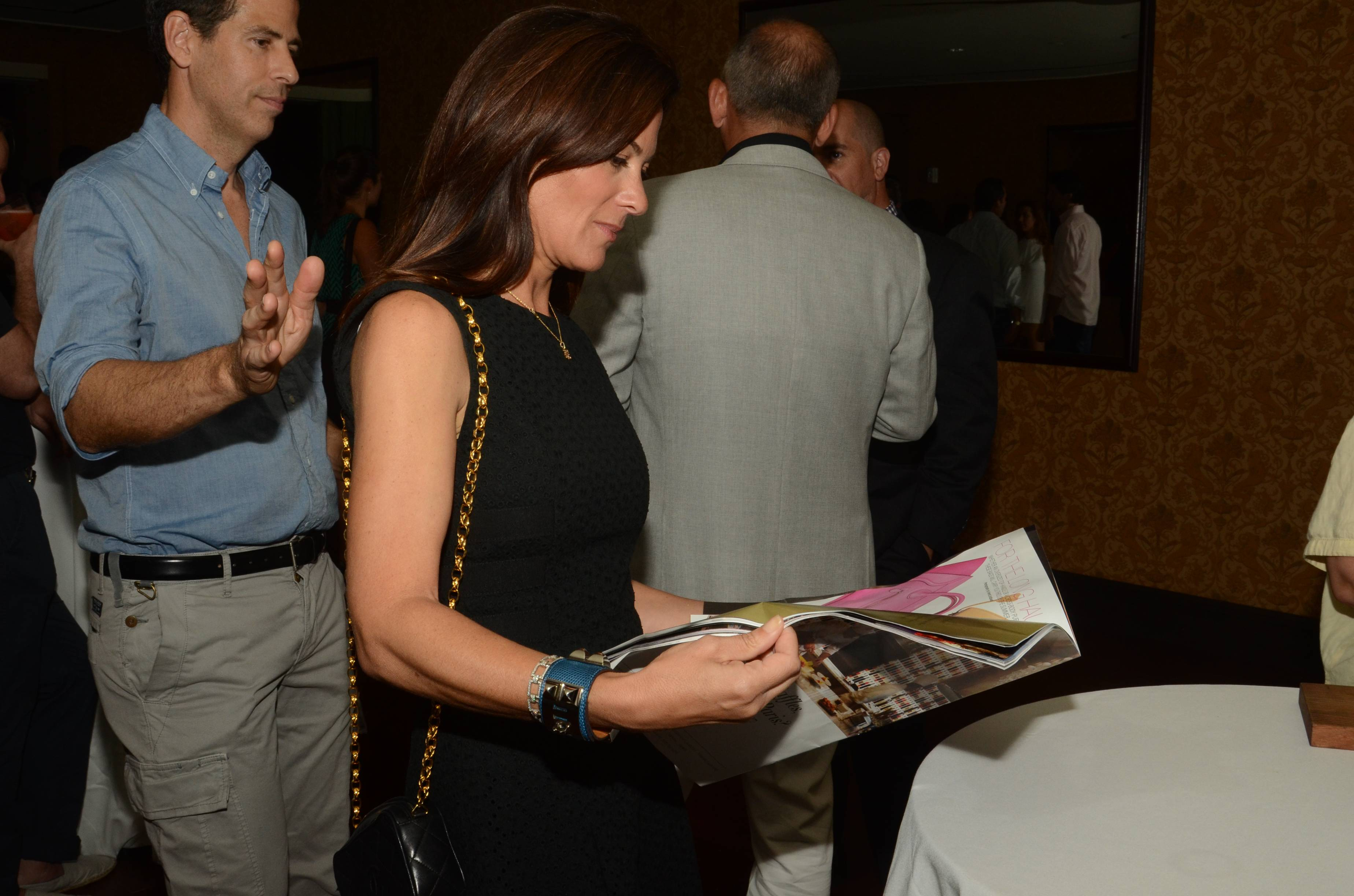 Sarah Harrelson Editor in Chief of Ultratravel U.S. Attends the U.S. Launch of Ultratravel at the NoMad Hotel (2)