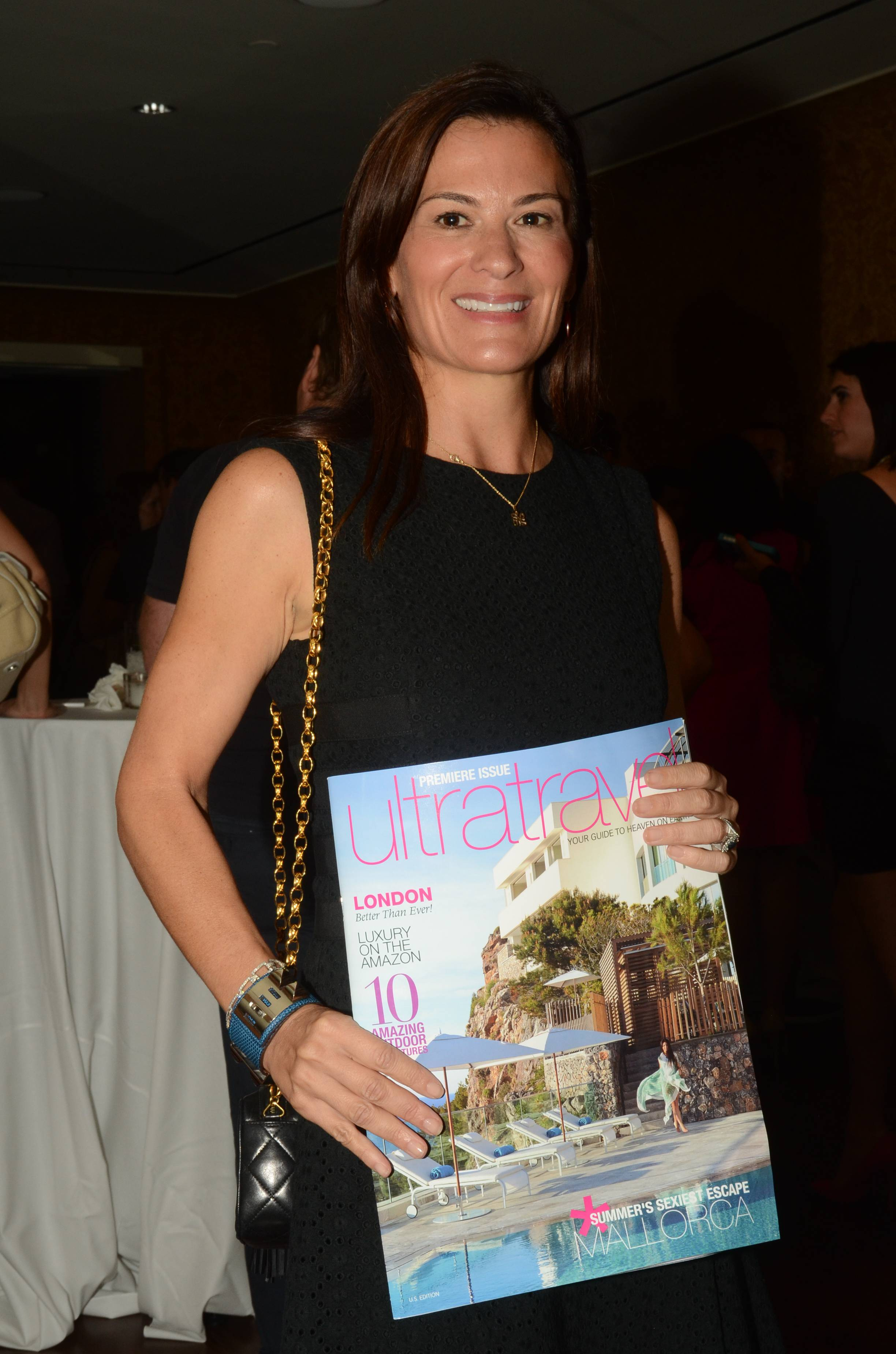 Sarah Harrelson Editor in Chief of Ultratravel U.S. Attends the U.S. Launch of Ultratravel at the NoMad Hotel