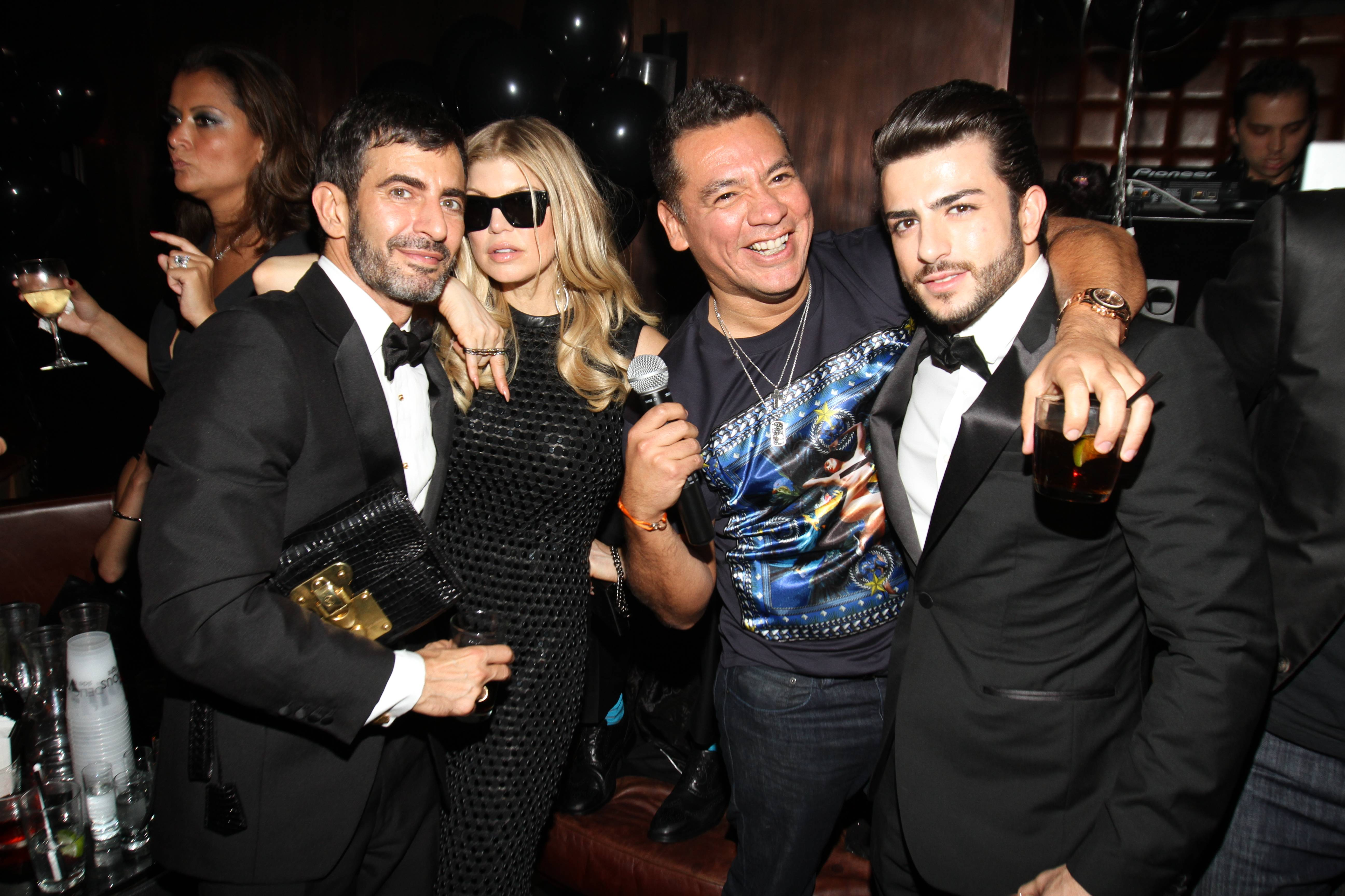 Haute Event: Fergie, Marc Jacobs At amfAR Inspiration Gala