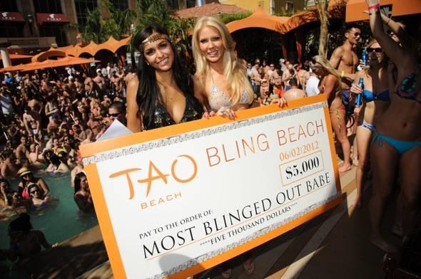 TAO Beach Bling Beach Winner