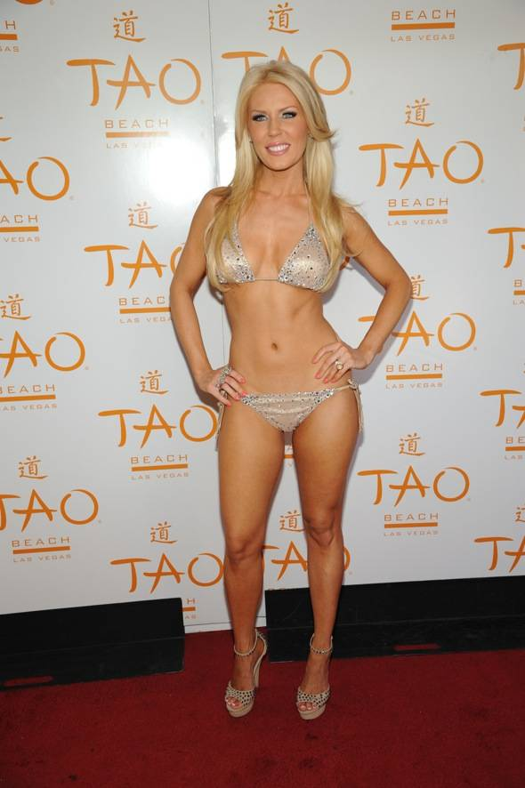 TAO Beach Gretchen Rossi Red Carpet