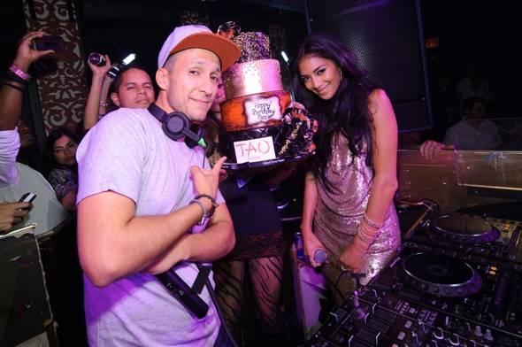 TAO Nicole Scherzinger DJ Vice Cake
