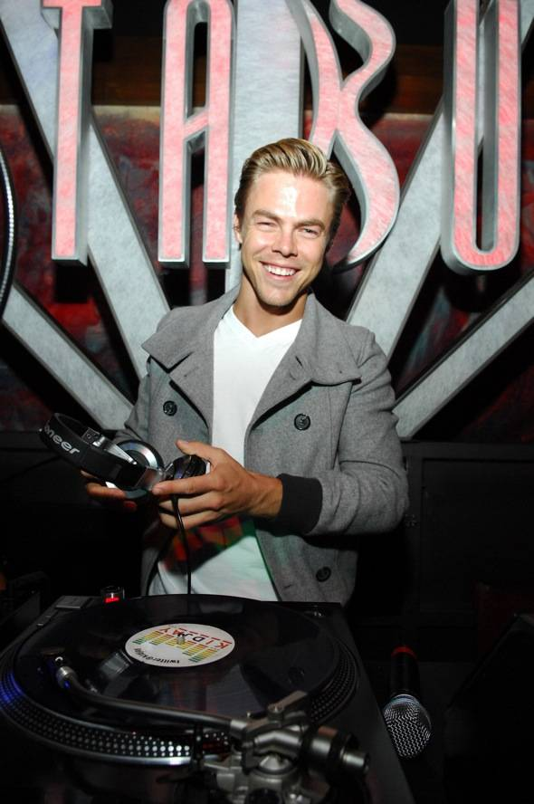 Tabú - Derek Hough in DJ Booth - 6.2.12