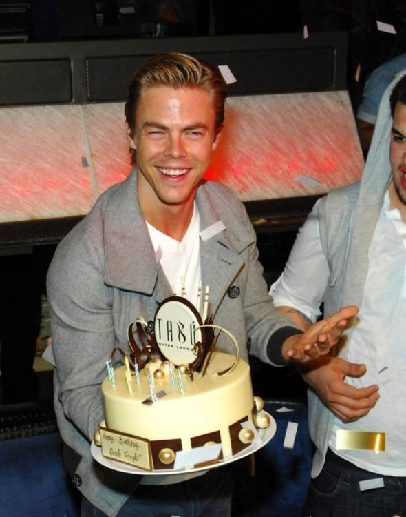 Tabú - Derek Hough with Cake- 6.2.12