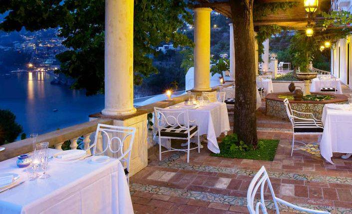 Villa Tre Ville offers authentic Italian dining in one of the world's beautiful settings.