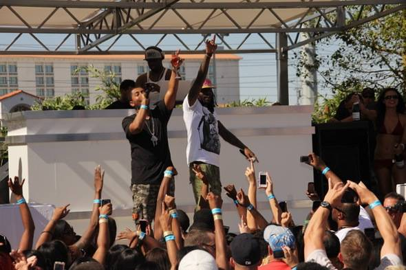 Wale performing at Ditch Fridays at Palms Pool 6.15.12