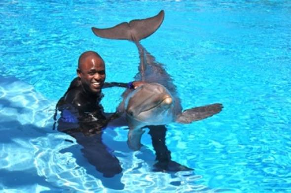 Wayne Brady with Maverick 6.2.12