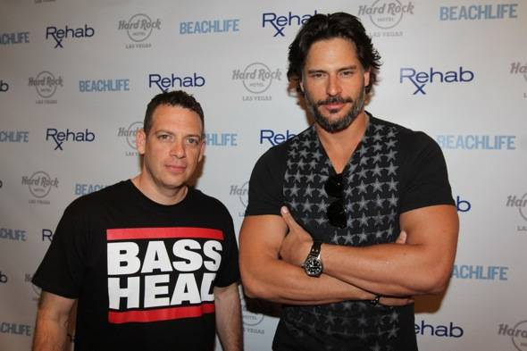 Z Trip Joe Manganiello Photo Credit Hew Burney 6.10