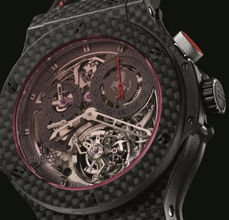 hublot-big-bang-ferrari-tourbillon-watch-dial