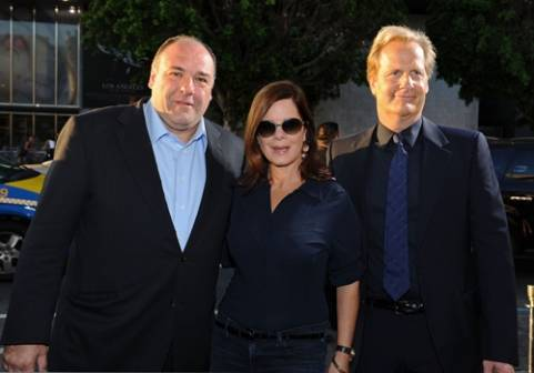 James Gandolfini, Marcia Gay Harden and Jeff Daniels