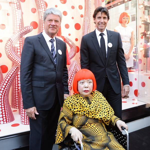 5th Ave NYC Kusama unveil 11