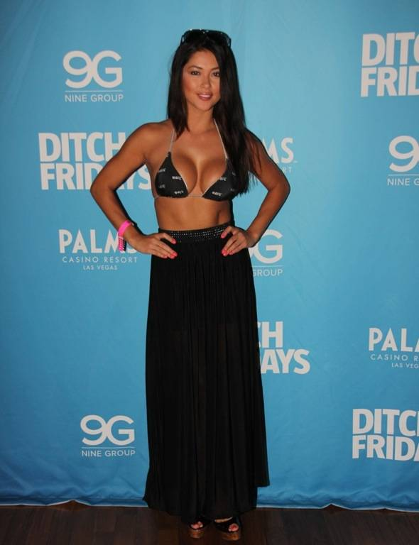 Arianny Celeste at Palms Pool & Bungalows in Las Vegas 7.5.12