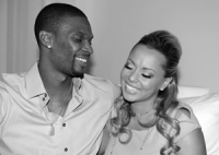 Chris Bosh & Adrienne Williams