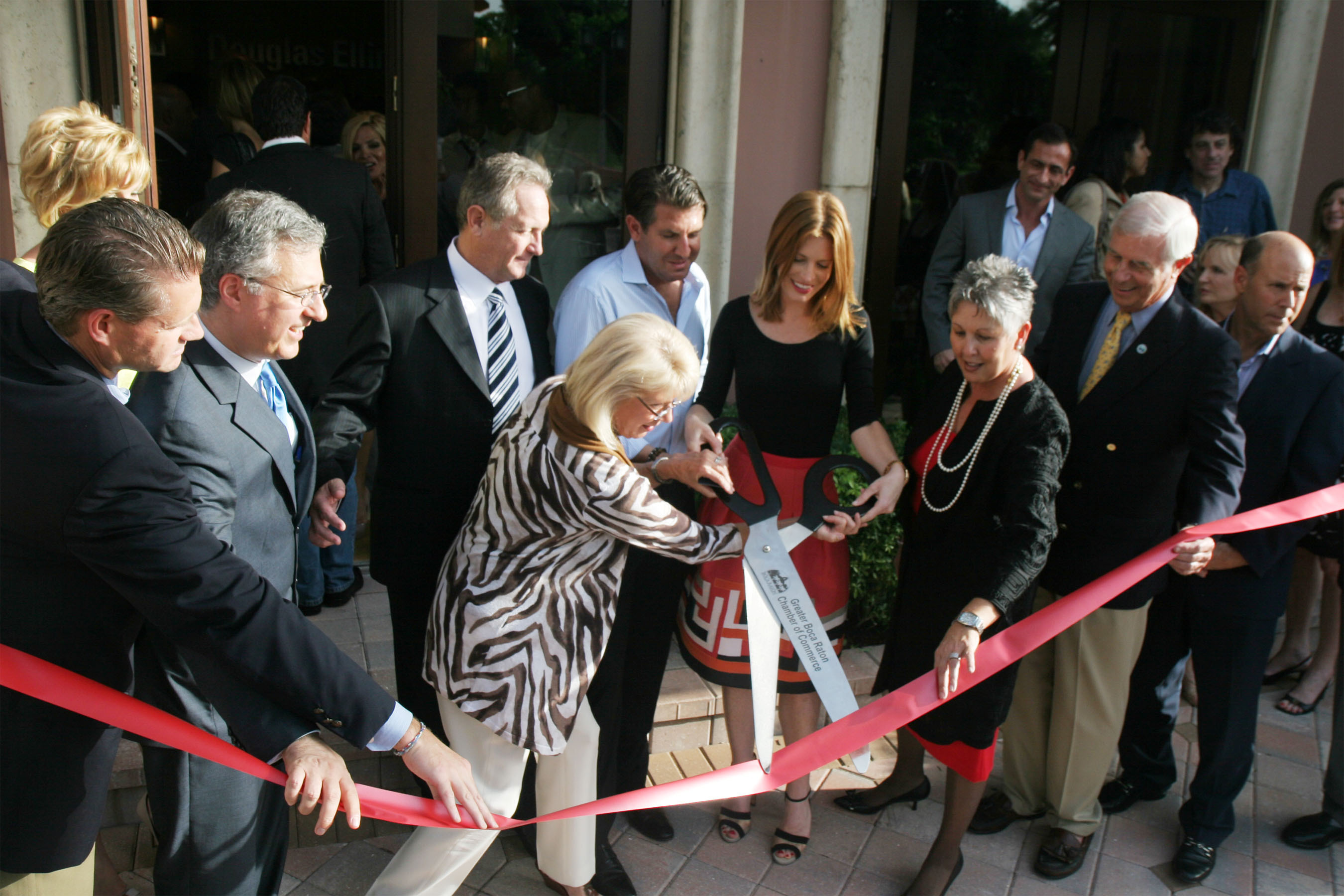 CAPPONI CONSTRUCTION RIBBON CUTTING