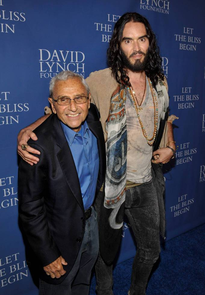 George Shapiro and Russell Brand