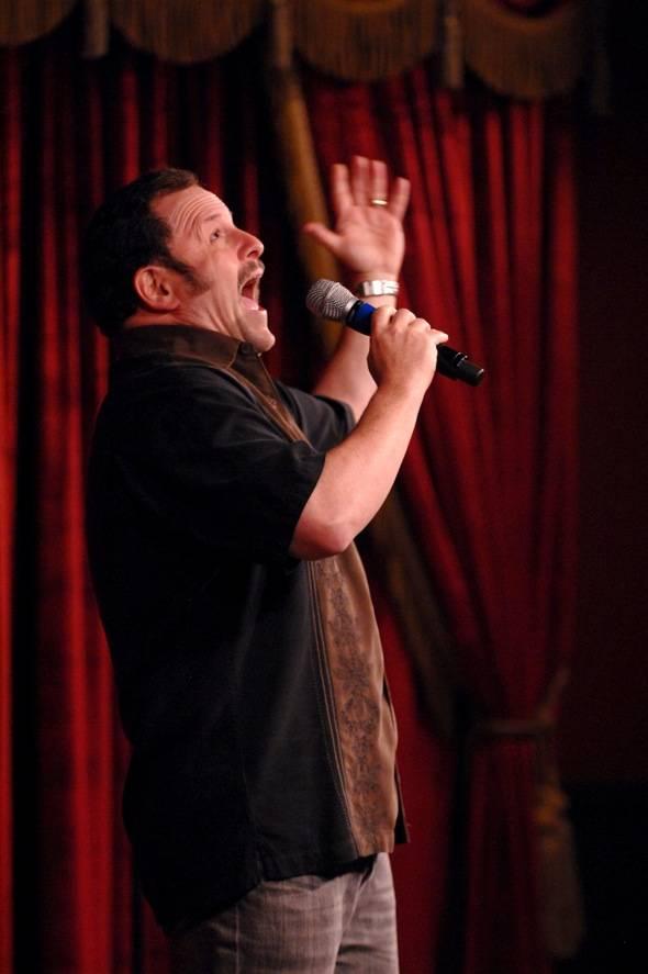 Jason Alexander performs at Brad Garrett's Comedy Club at MGM Grand 03