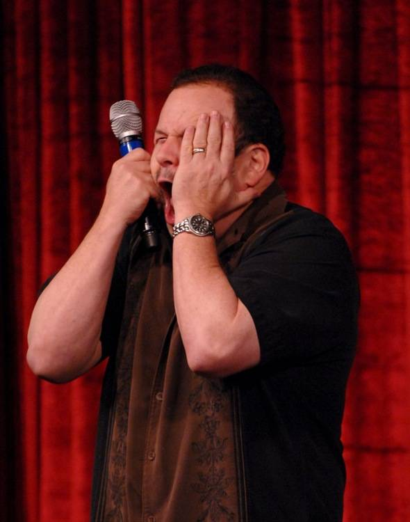 Jason Alexander performs at Brad Garrett's Comedy Club at MGM Grand