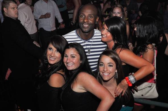 Jerry Rice at LAVO