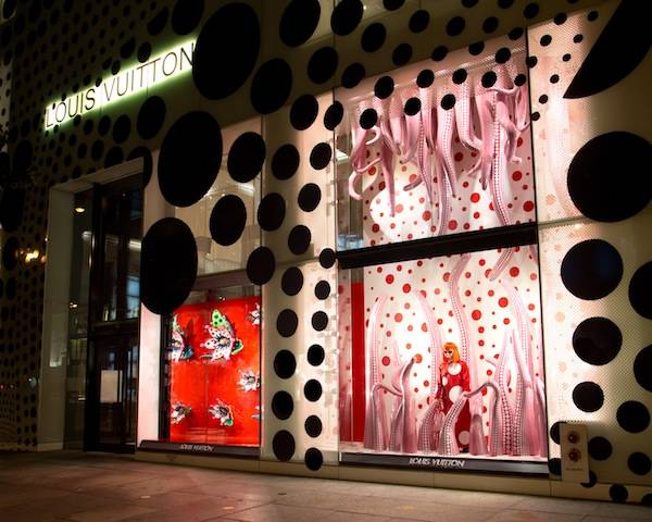 Kusama 5th Ave NYC Windows