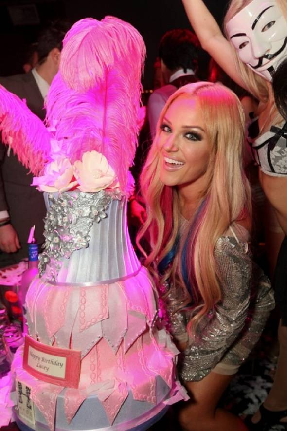 Lacey Schwimmer celebrates 24th birthday at Hyde Bellagio, Las Vegas, 6.29.12