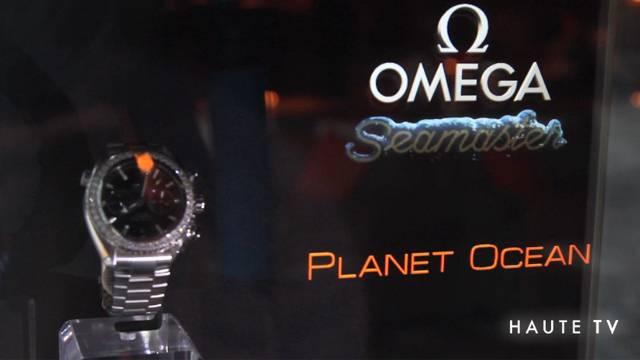 Omega Seamaster Planet Ocean at the SLS Hotel