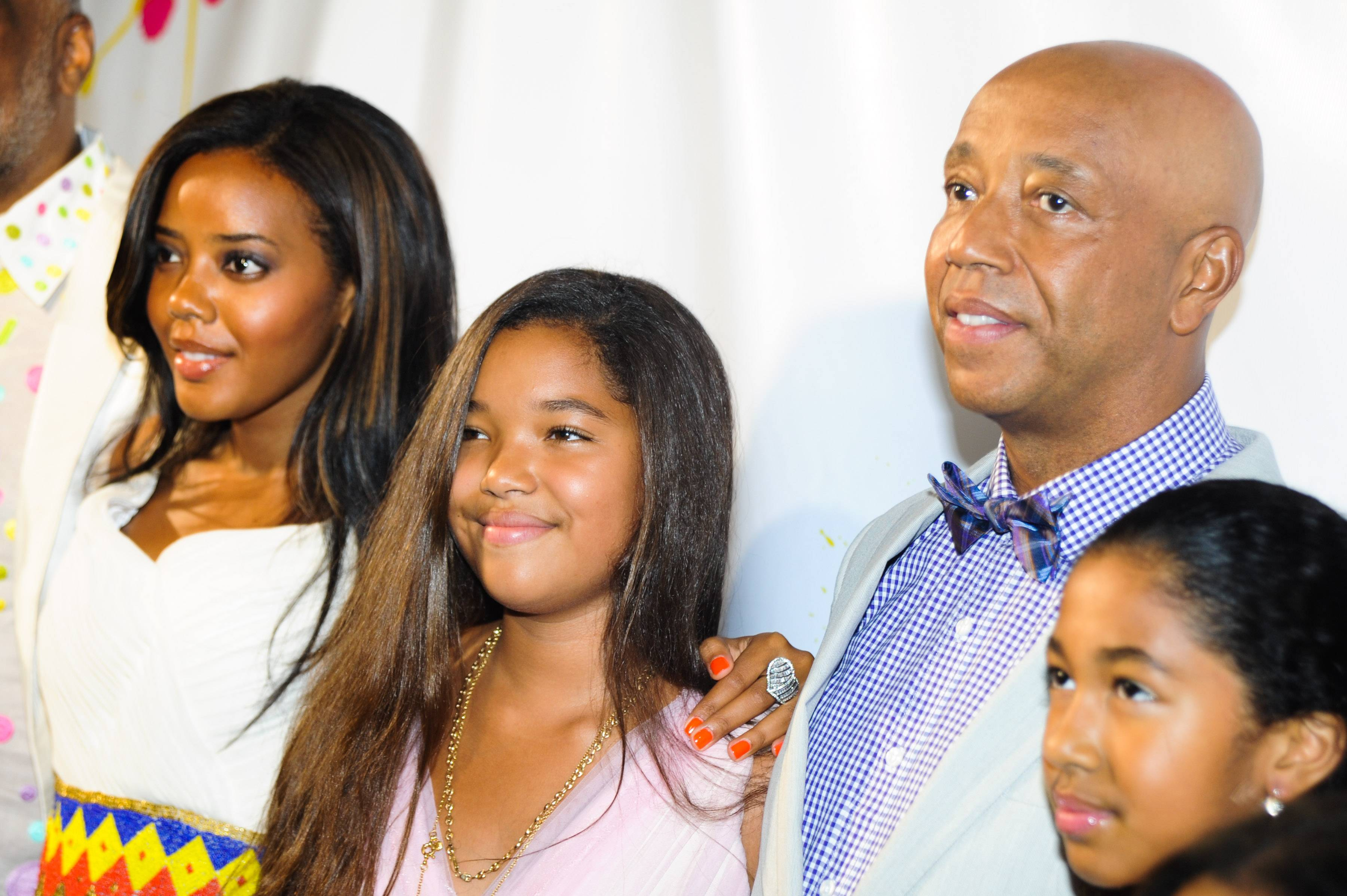 Russell Simmons and Kids