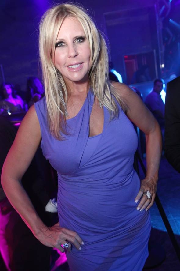 Vicki Gunvalson at Moon Nightclub in Las Vegas 7.22.12