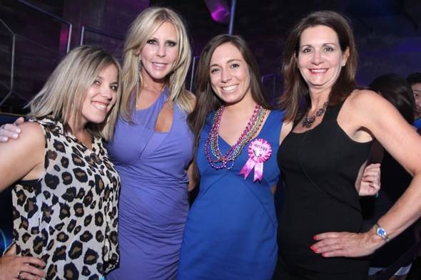 Vicki Gunvalson with friends at Moon Nightclub in Las Vegas 7.22.12