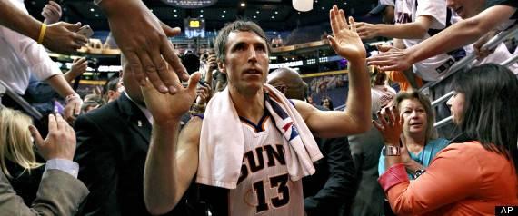 Nash Lakers Basketball
