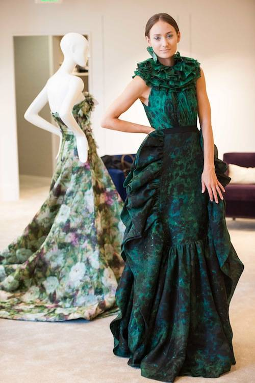Saks 5th Ave. Giambattista Valli Haute Couture Fall 2012 Trunk Show