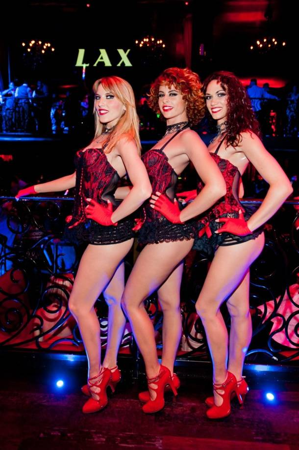 The Ladies of MGM Grand's Crazy Horse Paris