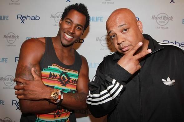 DJ Ruckus and DJ Rev Run. Photos: Hew Burney/Hard Rock Hotel
