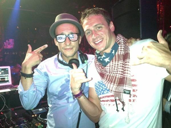DJ Vice_Ryan Lochte at TAO