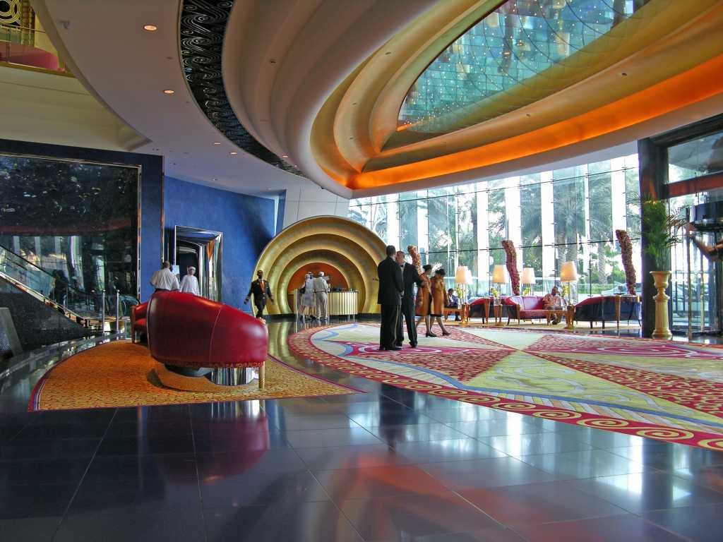 Coolest Living Rooms The Top 5 Hotel Lobbies In Dubai