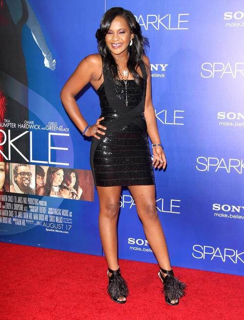 The World Premiere of SPARKLE in Hollywood