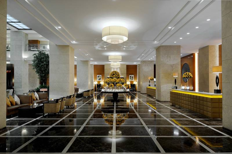The Top 5 Hotel Lobbies In Dubai