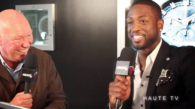 HAUTE TIME & PHILANTHROPY IS present HUBLOT event with Dwyane Wade & Udonis Haslem