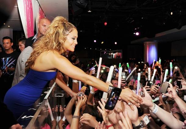 Jennifer Lopez Celebrates World Tour With Post Party At PURE Nightclub