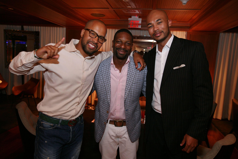 Kenny Burns, DJ Irie, & Darius Hines