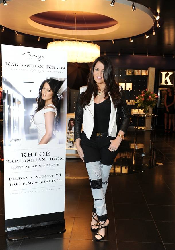 Khloe Kardashian Makes A Special Appearance At Kardashian Khaos At The Mirage Las Vegas