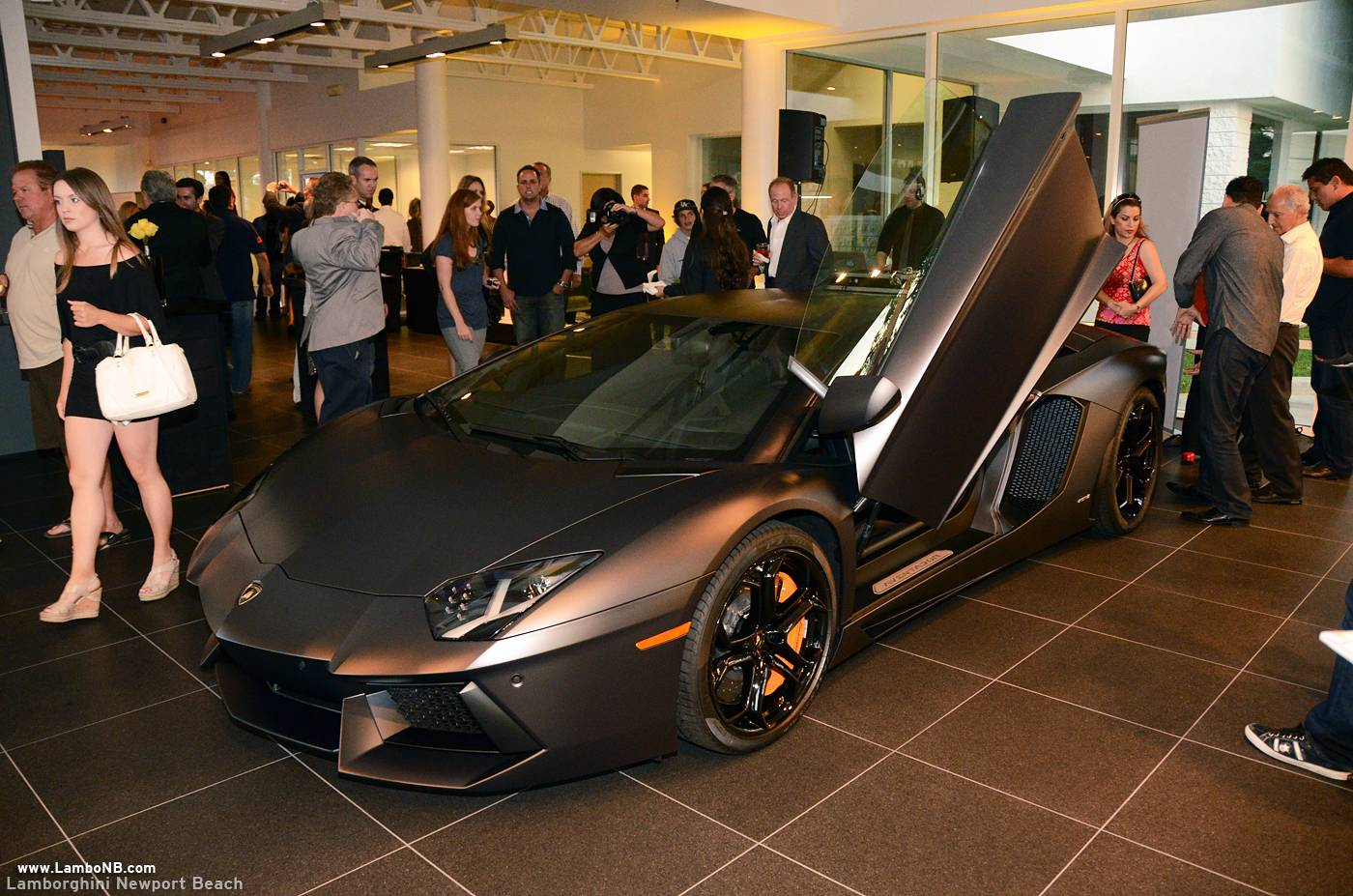 Lamborghini Newport Beach Celebrates Grand Opening With Unveiling Of - Lamborghini newport beach car show 2018