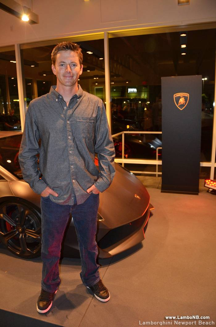 Lamborghini Newport Beach 2 - Host Tanner Faust from Top Gear USA
